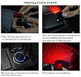 """Лазерный проектор """"ЗВЕЗДНОЕ НЕБО"""" + светомузыка + пульт ДУ для салона авто (питание от USB), фото 4"""