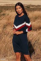 Трикотажное платье в спортивном стиле S M L XL 3Xl 5XL