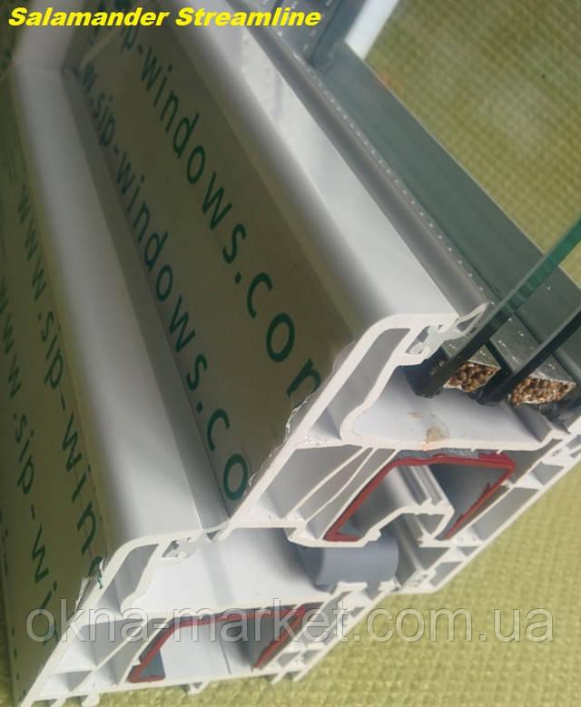 Пластиковые окна Salamander Streamline недорого