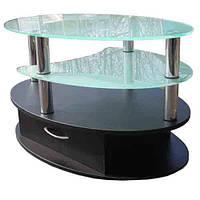 Стіл скляний журнальний СТ-604