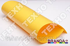 Ткань ПВХ 650 Желтый TM Branda