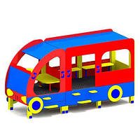 """Машинка для детской площадки """"Автобус"""" М003"""