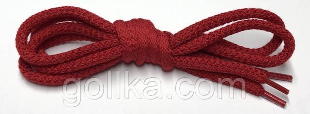 Шнурок круглый красный