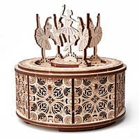 Конструктор деревянный Танцующие балерины. Wood trick пазл. 100% ГАРАНТИЯ КАЧЕСТВА!!! (Опт,дропшиппинг)