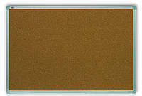 Доска пробковая, в рамке ALU23 – 600x450 мм; код – TCA456, фото 1