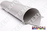 Тентовая ткань ПВХ  650  TM Branda Серый светлый