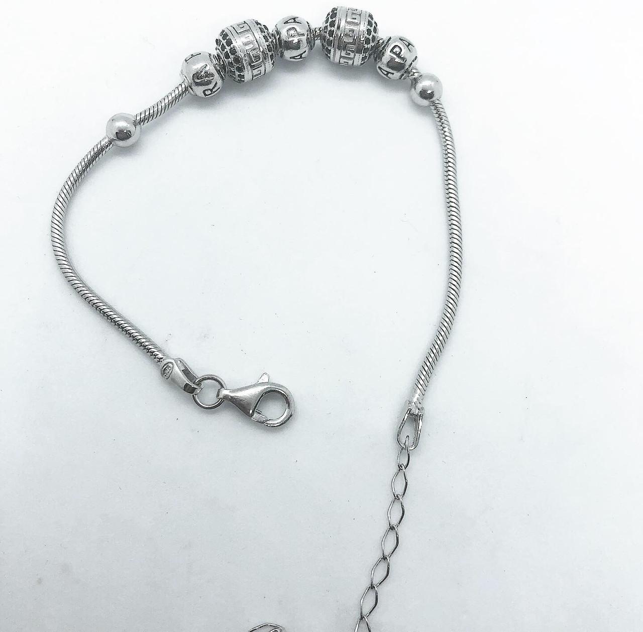 Браслет зі срібла 925 Beauty Jewels в стилі нової моделі №8