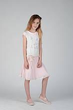Нарядное платье для девочки BRUMS Италия 141BGIM013 Белый