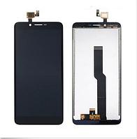Дисплей (экран) для Doogee X60 с сенсором (тачскрином) черный Оригинал