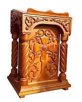 Тетрапод из  дерева православный 75х60см
