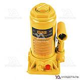 Домкрат гидравлический бутылочный - 8т 200-405 мм | СИЛА (Украина) 271018, фото 2