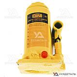 Домкрат гидравлический бутылочный - 8т 200-405 мм | СИЛА (Украина) 271018, фото 3