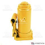 Домкрат гидравлический бутылочный - 8т 200-405 мм | СИЛА (Украина) 271018, фото 5