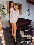 Женский стильный плиссированный комбинезон, фото 2