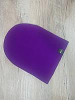 Шапка - чулок универсальная. Цвет - фиолетовый.