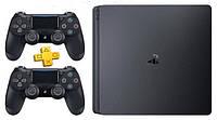Комплект PlayStation 4 Slim 1TB + Геймпад