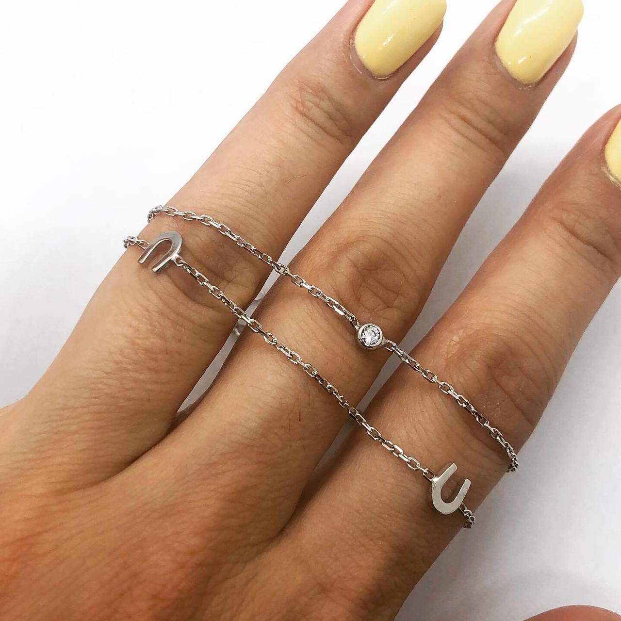 Браслет из серебра 925 My Jewels с подковой, фото 1
