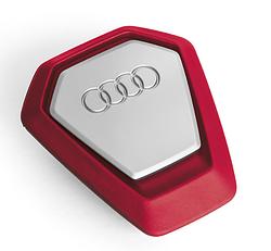 Оригінальний освіжувач повітря Audi singleframe fragrance dispenser (червоний), артикул 80A087009A