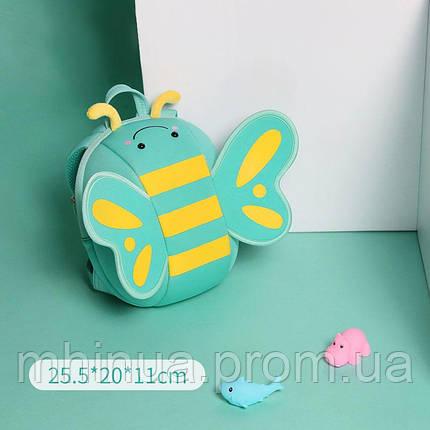 Детский рюкзак Nohoo Бабочка Мятный (NHB125), фото 2