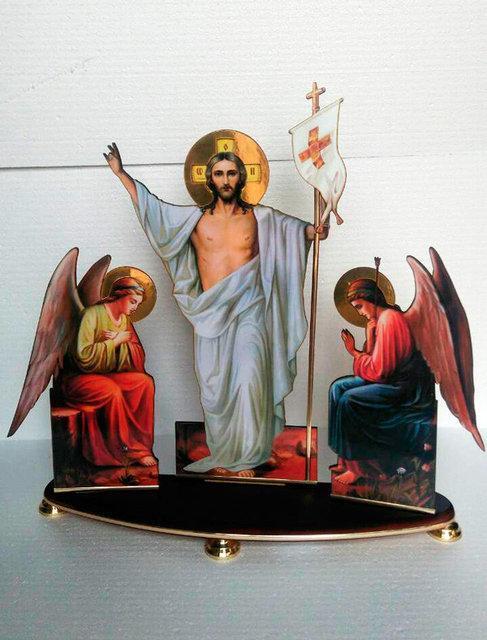 Воскресение Христово настольное 30х37см