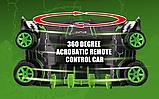Маневрена Гоночна Машина Angry Car на Радіоуправлінні Блакитна + підсвітка, поворот на 360 градусів, фото 4
