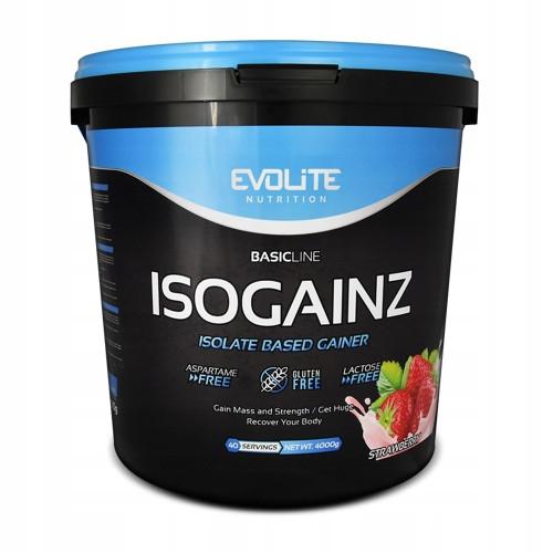 Гейнер Evolite Nutrition IsoGainz  4000g (Strawberry)
