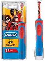 Детская зубная электрощетка Oral-B D12. 513  Stages Power, Суперсемейка
