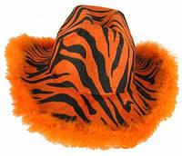 Шляпа ковбоя тигровая