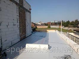 В городе #Запорожье, бригадой #RoofersPVCmembrane был выполнен монтаж эксплуатируемой кровли частного дома.