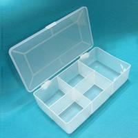 Тубус-контейнер 18x10x4 см на 5 секций