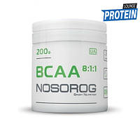Аминокислоты bcaa NOSOROG BCAA 8:1:1 200 g