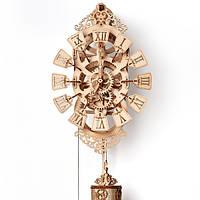 Конструктор деревянный Часы. Wood trick пазл. 100% ГАРАНТИЯ КАЧЕСТВА!!! (Опт,дропшиппинг)