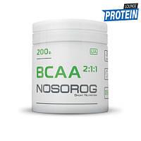 Аминокислоты bcaa NOSOROG BCAA 2:1:1 200 g