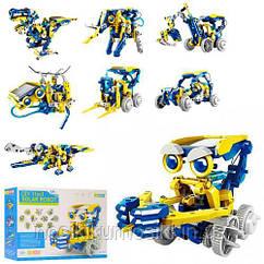 Робот конструктор на сонячній батареї Solar Robot 11 1