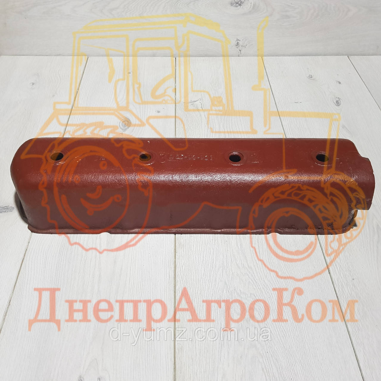 Крышка головки блока цилиндров ЮМЗ Д-65| Д65-02-029