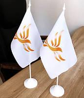 Виготовлення прапорців з логотипом.