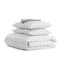 Комплект полуторного  постельного белья GREY STAR GREY