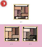 Тени-палетка для век FFleur SOFT BREEZE Palette 6-ти цветные ЕР 06