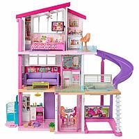 Трехэтажный новый дом Барби с мебелью (Barbie Dreamhouse with 70+ Accessory)