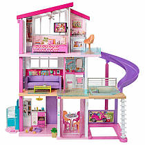 Триповерховий будинок Барбі з меблями (Barbie Dreamhouse with 70+ Accessory)