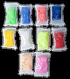 Воздушный пластилин 10шт, 3 формочки, 3 стека для лепки в тубусе BABY Line, фото 3