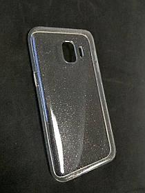 Чехол для телефона Samsung A10/A105 (2019) Silicone TPU Transparent + Briliance