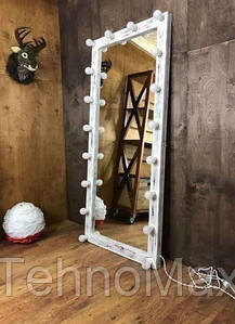 Деревянное зеркало в стиле LOFT (180 см) (NS-970001067)