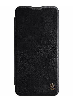 Чехол книжка Nillkin Qin ser. для Samsung Galaxy M20 Черный (174450), фото 2