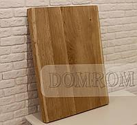 Стільниця з живим краєм з натурального дерева дуба на кухню