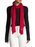 Красный шарф Calvin Klein