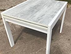 Кухонный стол трансформер Слайдер дерево + ДСП fn, цвет на выбор, фото 2