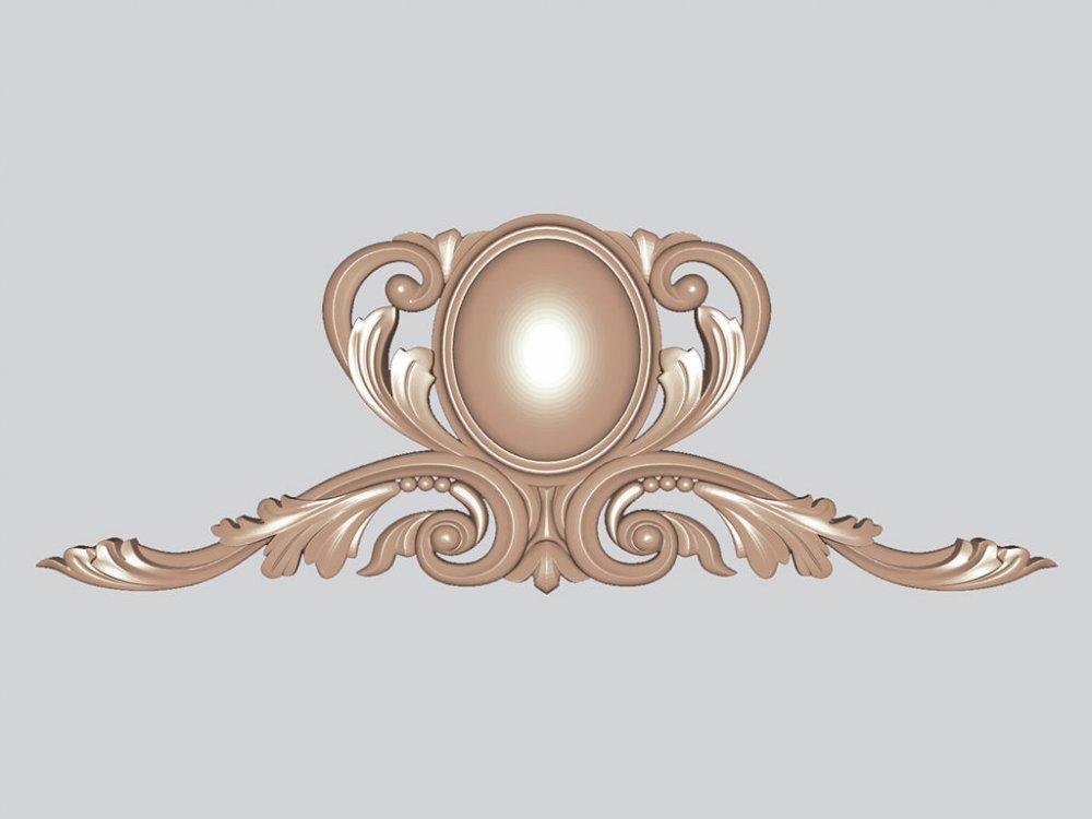 Декор резной для мебели Луиджи 1