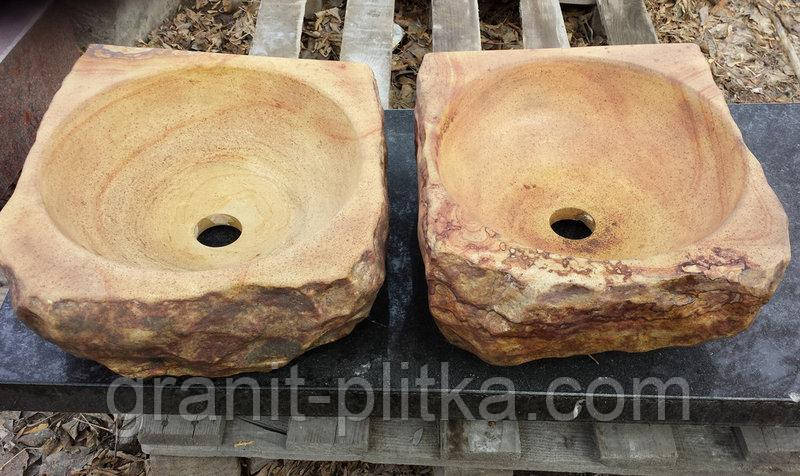 Раковини з каменю, натуральні раковини для ванни