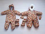 Детские комбинезоны на выписку, конверты, комплект, фото 8